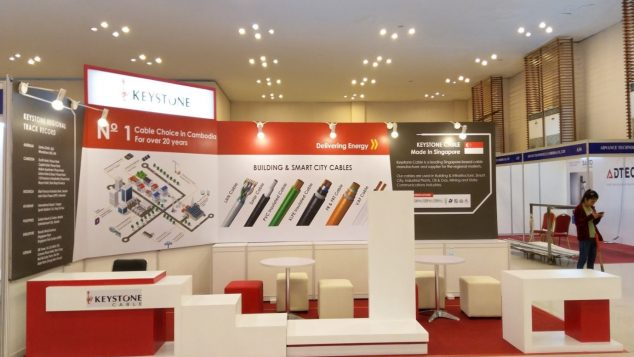 Keystone Cable (S) Pte Ltd, Cambodia Construction Industry Expo 2018 Image